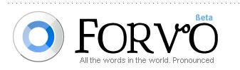 forvo uitspraak woorden